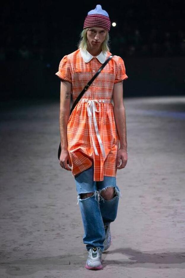 Polémica Con Los Vestidos Para Hombres De Gucci Casi 2 000 Euros Por Romper Estereotipos Tóxicos Mujer Hoy